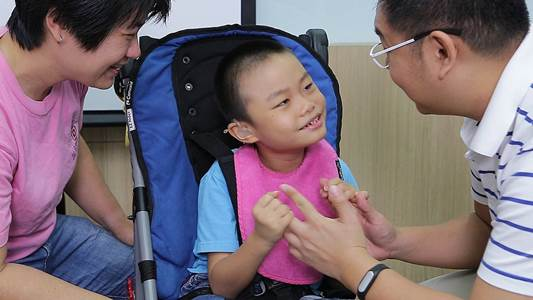 Cerebral Palsy story of Ee Han, cord blood stored with Cordlife Singapore