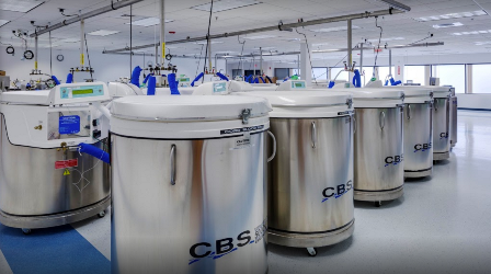 NECBB stem cell storage tanks