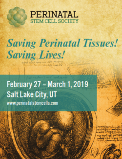 Perinatal Stem Cell Scoeity 2019 save the date