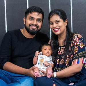 Shanaya Agarwal family