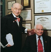 Doctors Milton and Norman Ende, photo published by University of Richmond Magazine