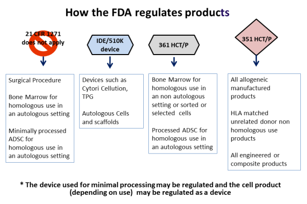FDA regulatory pathways