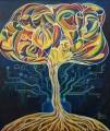 """Tree of Life. Placenta"", a painting by Ekaterina Abramova"