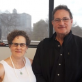 Dr. Frances Verter & Dr. Neil Riordan, Perinatal Stem Cell Society meeting, 1 March 2019