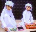 Zayed thalassemia patient with brother and stem cell donor Mohammed